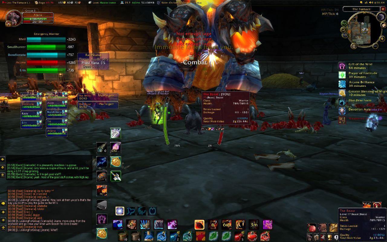 """Screenshot zu """"World of Warcraft"""""""