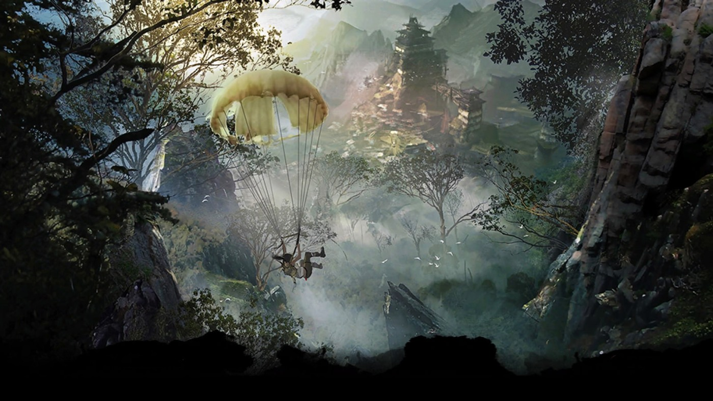 """Artwork zu """"Tomb Raider"""""""