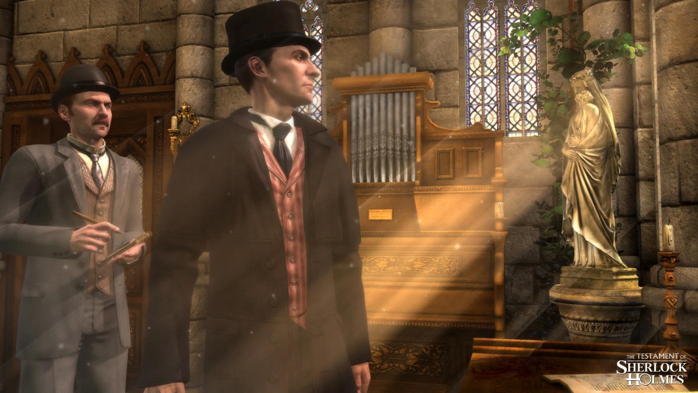 "Screenshot zu ""Das Testament des Sherlok Holmes"""